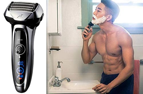 Panasonic Arc5 Electric Razor, Men's 5-Blade Cordless with Shave Sensor