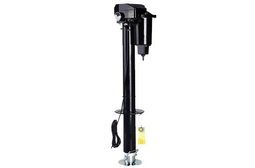 Goplus 3500 lb Capacity Electric Tongue Jack A-Frame for RV Trailer Boat Jet Ski Camper