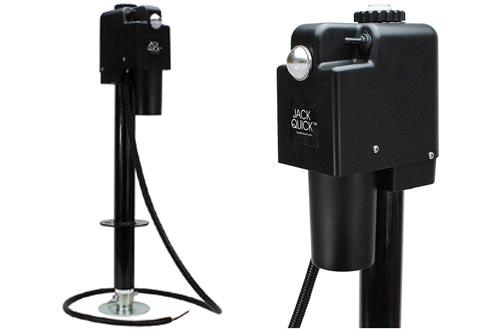 Jack Quick 3500 JQ-3500B 12V Electric Tongue Jack with single Lights