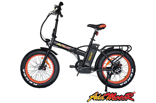 Addmotor Motan Electric Bikes Foldable E-Bikes Fat Tire