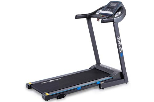 Goplus 2.25HP Electric Foldable Treadmill for Home Gym