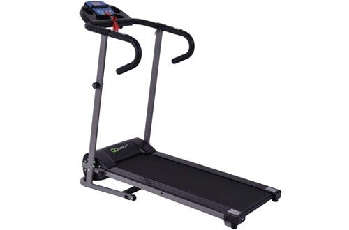 Goplus 1100W Folding Treadmill Electric Motorized Power Fitness Running Machine