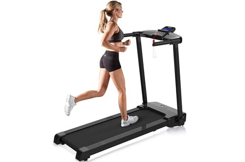Merax JK103A Easy Assembly Folding Treadmill Motorized Running Jogging Machine
