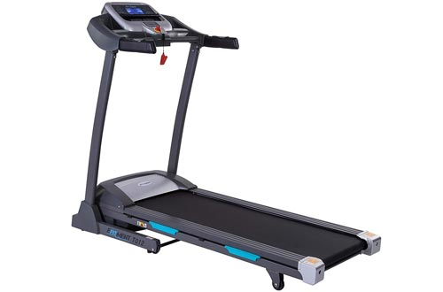 EFITMENT Auto Incline Bluetooth Motorized Treadmill w/Speakers & Folding for Running & Walking