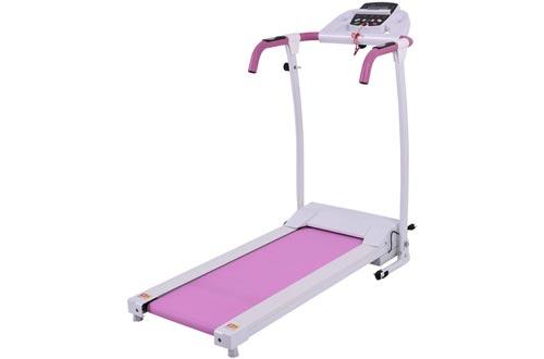 Goplus 800W Folding Treadmill Electric Motorized Power Fitness Running Machine