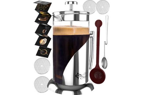French Press Coffee & Tea Maker Complete Bundle