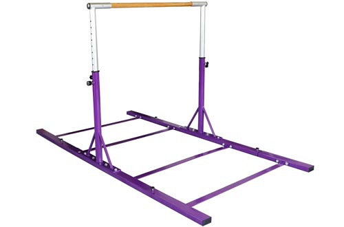 Usexport Adjustable 3' to 5' Horizontal Bar Gymnastics Expandable Junior Training Bar