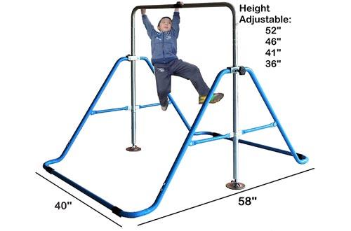 Kids Jungle Gymnastics Expandable Junior Training Monkey Bars Climbing Tower Child play Training Gym