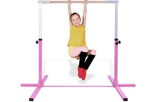 Gymnastics Adjustable Steel Gymnastic Horizontal Bar