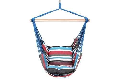 Blissun Hanging Hammock Chair, Hanging Swing Chair