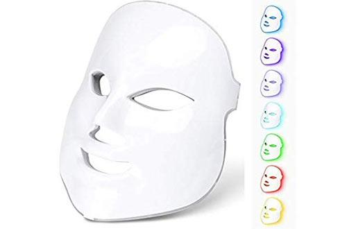 Light Photon LED Mask Electric Facial Skin Rejuvenation Therapy Face Care