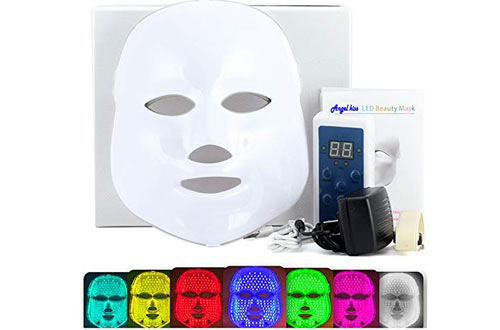 Light Treatment Facial Beauty Skin Care Rejuvenation Pototherapy Mask