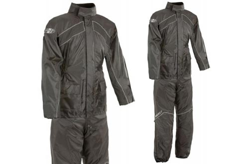 Water Resistant XL Motorcycle Rain Suit