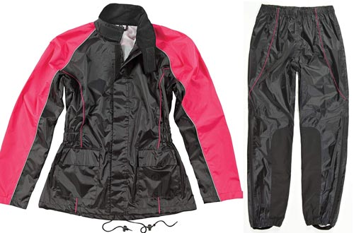 oe Rocket RS2 Womens 2-Piece Motorcycle Rain Suit