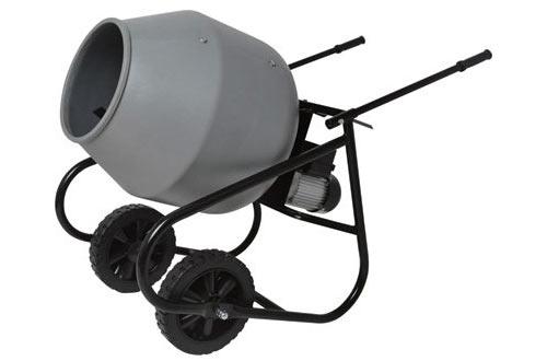 Klutch 2 Cubic Ft. Portable Cement Mixer