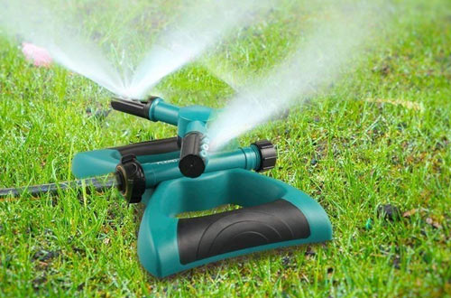 Lawn Sprinkler, Automatic 360 Rotating Adjustable Kids Sprinkler Lawn Irrigation System