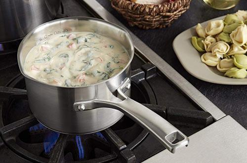 Calphalon Classic Stainless Steel Cookware, Sauce Pan