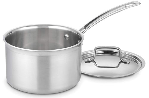 MultiClad Pro Stainless Steel 3-Quart Saucepan with Cover