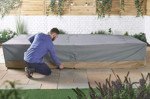 Premium Heavy Duty Waterproof Outdoor Patio/Veranda Table & Chairs Cover