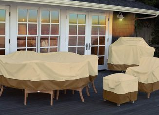 Classic Accessories Veranda Oval/Rectangular Patio Table & Chair Set Cover
