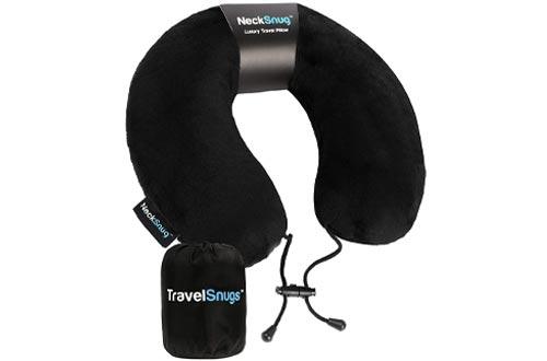 NeckSnug - Luxury Travel Pillow - Memory Foam Neck Pillow for Travel