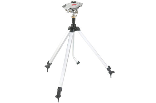 Gilmour Extra Large Coverage Sprinkler With Adjustable Tripod Base