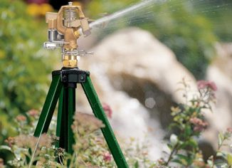 Orbit 58308 Tripod Base with Brass