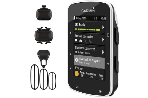 Garmin Edge 520 GPS Cycling Computer 010-01368-00 and Garmin Bike Speed Sensor