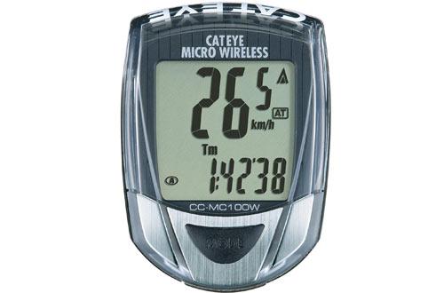 Cateye CC-MC100W Micro Wireless Bicycle Computer