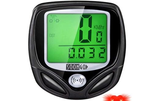 SOON GO Bike Computer Speedometer Wireless Waterproof Bicycle Odometer Cycle Computer