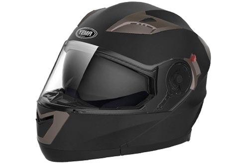 Motorcycle Modular Full Face Helmet DOT Approved