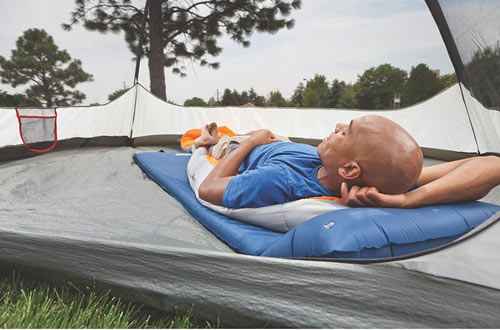Coleman Sleeping Pad | Self-Inflating Camping Sleep Pad with Pillow