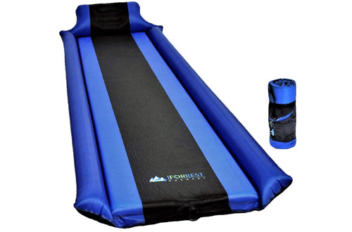 IFORREST Self-Inflating Sleeping Pad with Armrest & Pillow