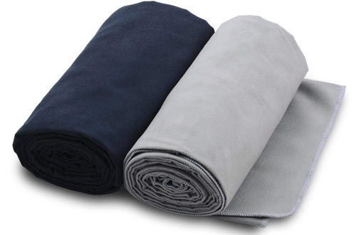 The Friendly Swede Microfiber Towels for Sports, Travel, Swim, Hiking and Camping