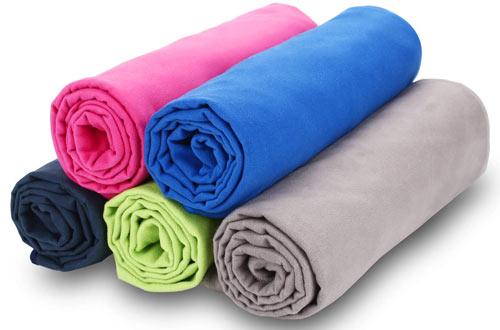 Relefree Microfiber Travel Sports Gym Towel for Camping, Gym & Beach