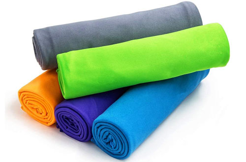 5532501325 Top 10 Best Quick Dry Camping Towels for Gym   Bath Reviews In 2019