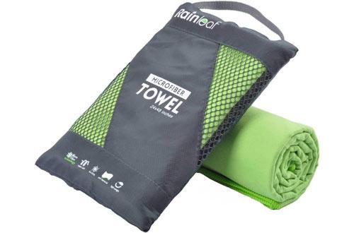 Rainleaf Microfiber Towel Perfect Sports & Travel &Beach Towel