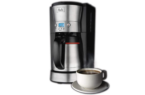 Melitta Coffee Maker with Vacuum Stainless Thermal Carafe