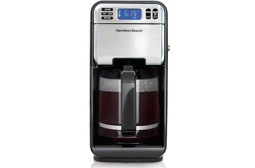 Hamilton Beach Digital Stainless Steel Coffee Machines