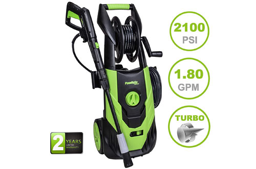 PowRyte Elite 2100 PSI 1.8 GPM Electric Pressure Washer