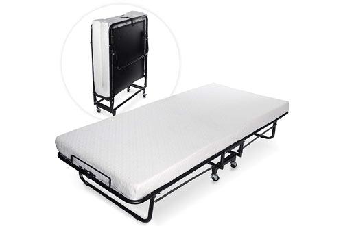 Milliard Premium Folding Bed with Luxurious Memory Foam Mattress