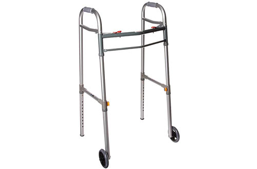 Drive Medical Deluxe Folding Universal Walker for Adult/Junior