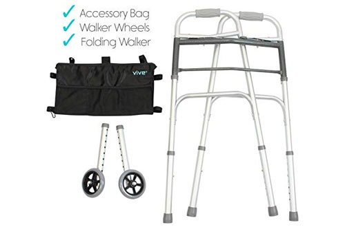 Vive Portable Lightweight Walking Medical Mobility Aid for Handicap