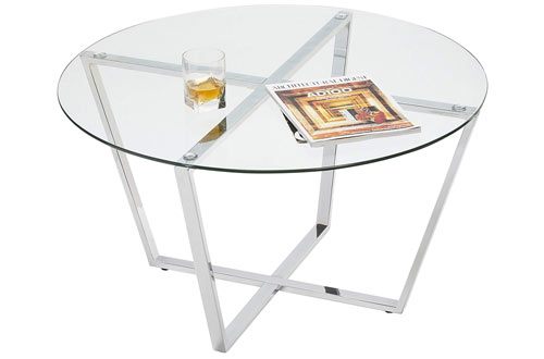 Mango Steam Metro Glass Coffee Table