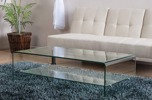 Charlize Glass Coffee Table