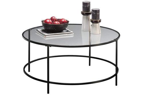 Sauder Soft Modern Round Coffee Table