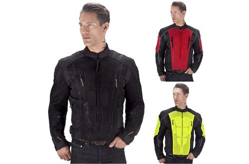 Viking Cycle Warlock Motorcycle Mesh Jacket For Men