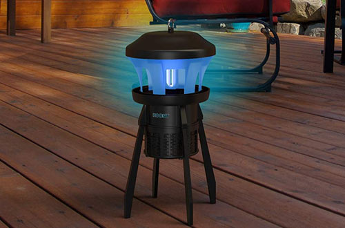 Hoont Indoor Outdoor 3-Way Mosquito and Fly Trap Killer with Stand