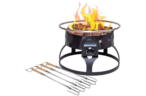 Camp Chef Redwood Portable Propane Fire Pit