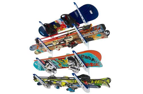 StoreYourBoard Snowboard Multi Wall Storage Rack